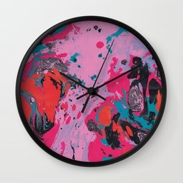 Marble texture 14 Wall Clock