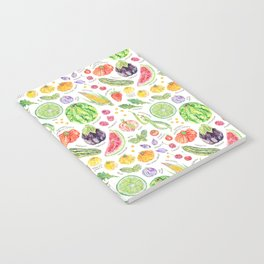 Summer Harvest Pattern Annotated Notebook