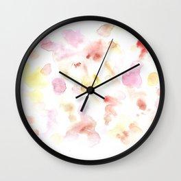 170722 Colour Living 21 |Modern Watercolor Art | Abstract Watercolors Wall Clock