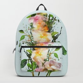 Wild roses, watencolors Backpack