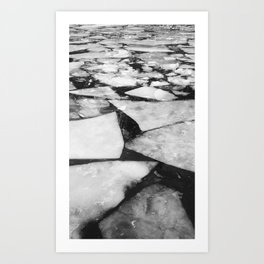 break the ice Art Print
