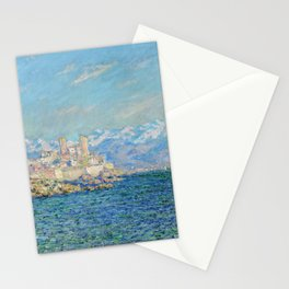 Claude Monet Antibes Afternoon Effect Stationery Cards