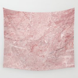 Blush Pink Marble Wall Tapestry