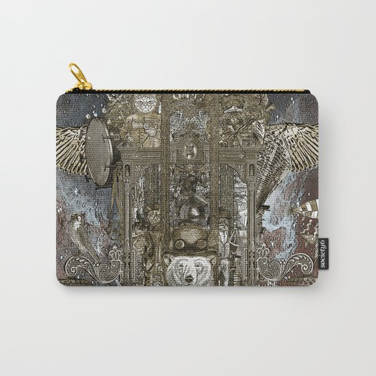 Steampunk Space Transport Carry-All Pouch