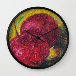 Maraschino Cherries Wall Clock