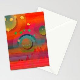 """""""Sci-fi Pop Landscape"""" Stationery Cards"""