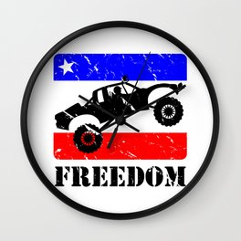 FREEDOM! Pre-Runner Wall Clock