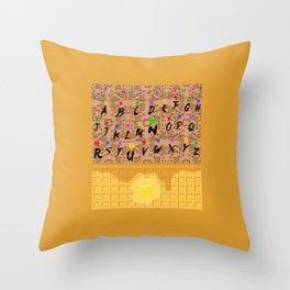 Upsidedown Waffle Wall Throw Pillow