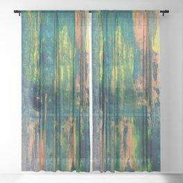 Lagoon Sheer Curtain