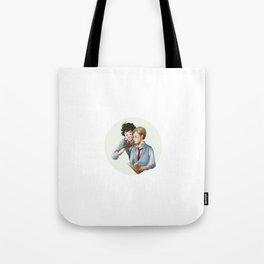 Grantaire et Combeferre Tote Bag