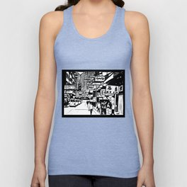 Hong Kong Unisex Tank Top