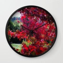 View Between The Branches Wall Clock