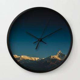 Himalayan sunrise Wall Clock