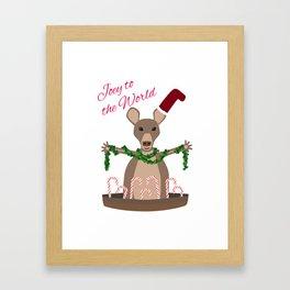 Joey to the World Framed Art Print