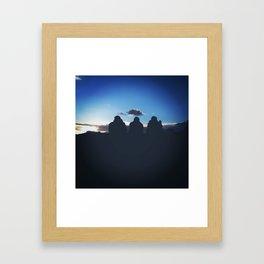 Evening Silhouette  Framed Art Print