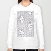 ships Long Sleeve T-shirts featuring Ships by hellotomato