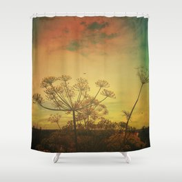 Summer Enchantment Love Shower Curtain