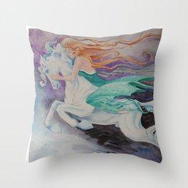 Dream Rider Throw Pillow