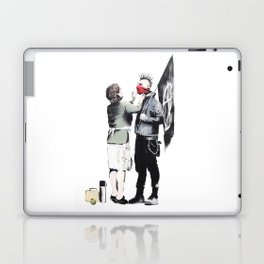 Banksy, Punk with mother Laptop & iPad Skin