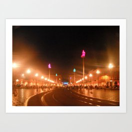Nice Night Art Print