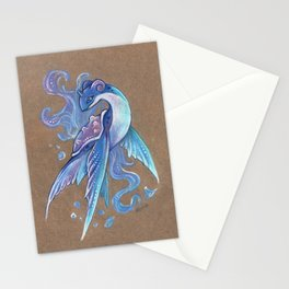 Fantasy Lapras Stationery Cards