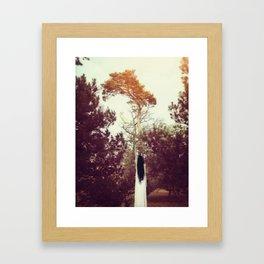 Out of reach... Framed Art Print