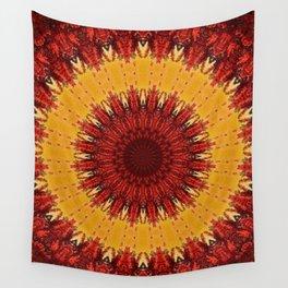 KALEIDOSCOPIC FALL Wall Tapestry