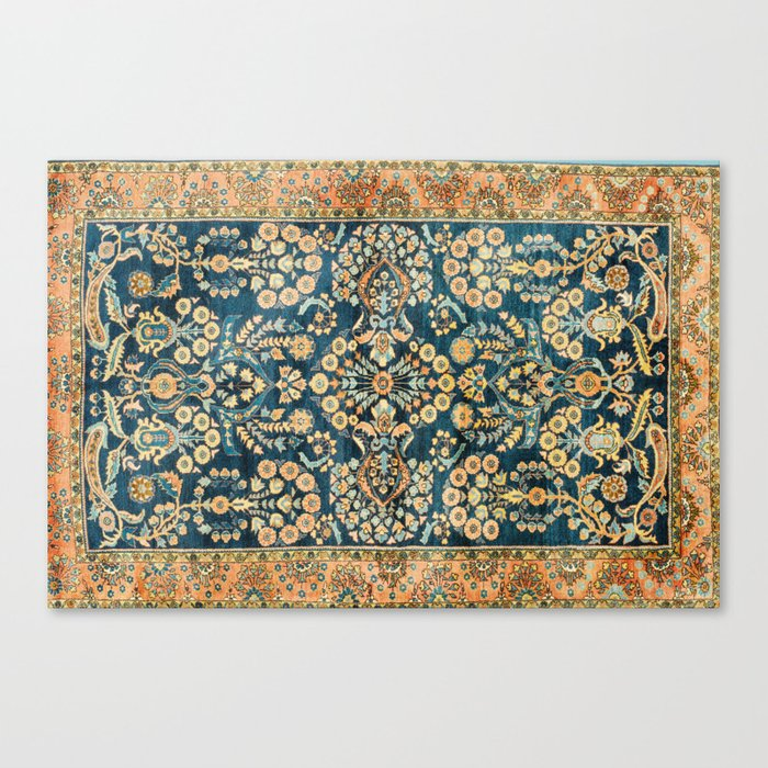 Sarouk  Antique West Persian Rug Print Leinwanddruck