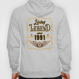 Living Legend Since 1991 Hoody
