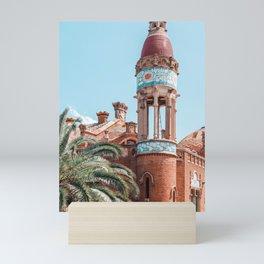 Barcelona Exotic Architecture Details Print, Architecture Print, Sant Pau Hospital Landmark Urban Print Mini Art Print