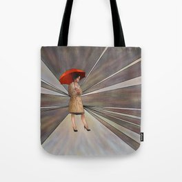 Limessia - beauty with umbrella Tote Bag