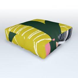 Tropical West Outdoor Floor Cushion