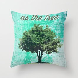 Roots of the Tree Throw Pillow