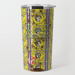 Bwilly Bwightt's Circus  Big Dirty Cat Travel Mug