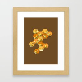 Just Bee Framed Art Print