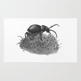 Inktobober 2016: Cactus Longhorn Beetle Rug