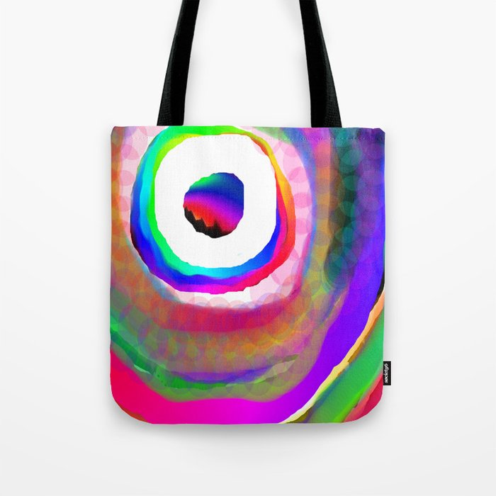 Space Rainbow Tote Bag