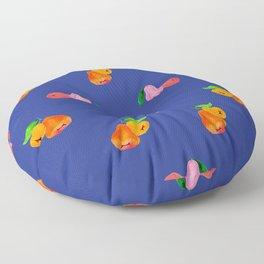 Jambu I (Wax Apple) - Singapore Tropical Fruits Series Floor Pillow