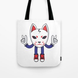 In Fox God We Trust Tote Bag