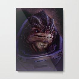 Mass Effect: Grunt Metal Print
