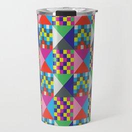 geometric//pattern//amazin-ness Travel Mug