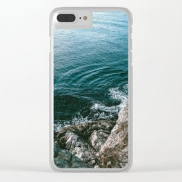 Look Down Clear iPhone Case