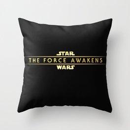 The Force Awakens Throw Pillow