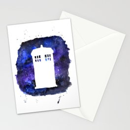 On Our Way to Gallifrey Stationery Cards