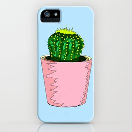 Prickly Mood iPhone Case