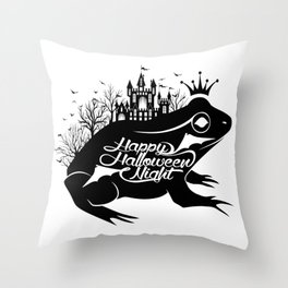 Happy Halloween day - Party night - Great gift idea for your friends Throw Pillow