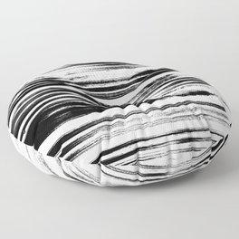 Textured Stripes Floor Pillow