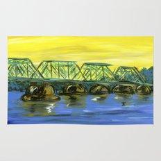 New Hope-Lambertville Bridge Rug
