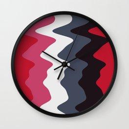 Abstract lines 23 Wall Clock