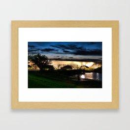Carlsbad Flume at Dusk Framed Art Print